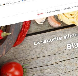 Création de site web Aliments AAA