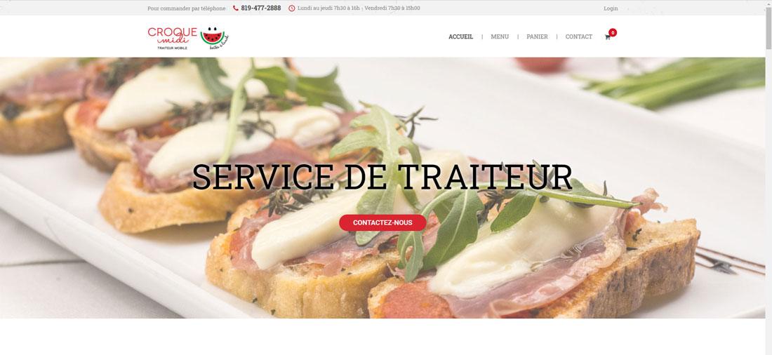Création de site web Croque Midi